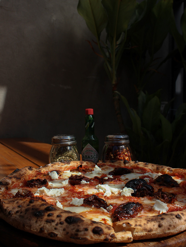 The Smokey Marzano Pizza by Brik Oven