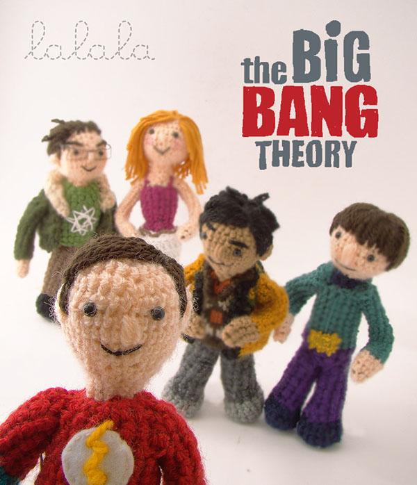 the big bang theory lalala toys amigurumi  tribute