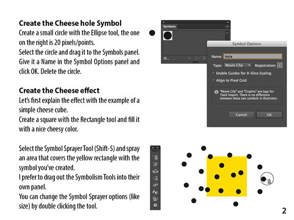 Illustrator Cheese Type effect on Behance