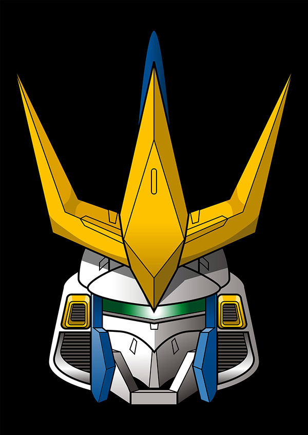 Exceptional Logo Gundam Head Vector Picture Download 9
