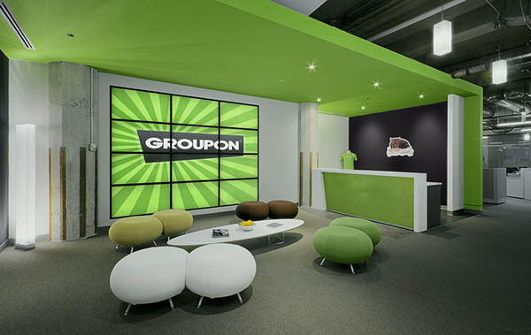 Groupon inc chicago il architect box studios on behance for Office design group inc