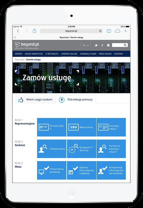 beyond.pl rwd Website Responsive Responsive web design