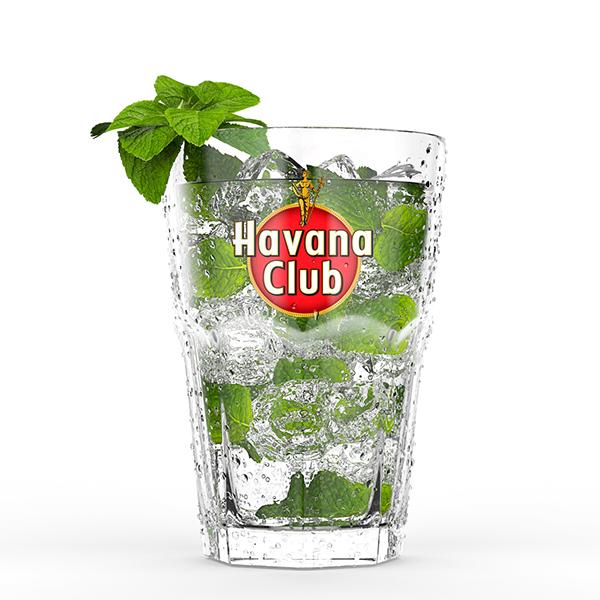 havana club mojito havana club cgi on behance. Black Bedroom Furniture Sets. Home Design Ideas