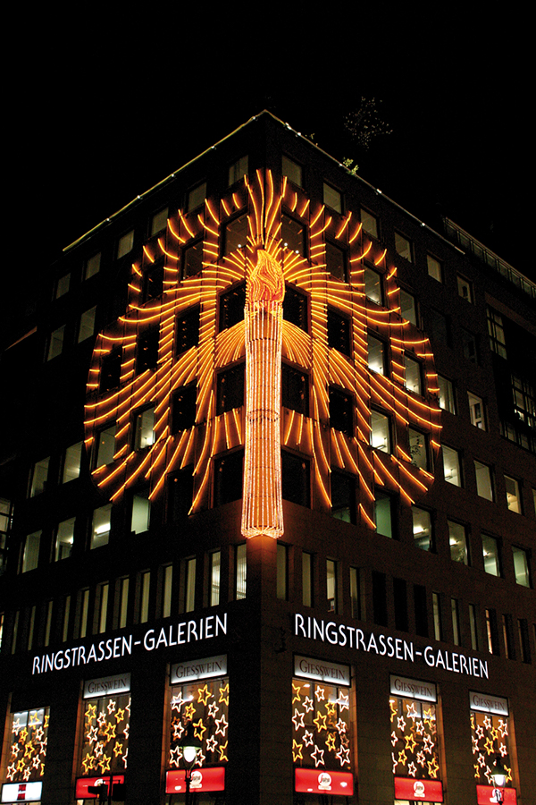 ringstrassen galerien weihnachtsbeleuchtung