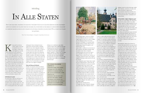 In Alle Staten  jeroen rijpstra magazine print design