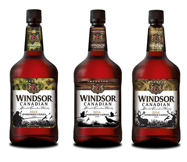 WINDSOR CANADIAN WHISKEY - SPORTSMAN'S SERIES