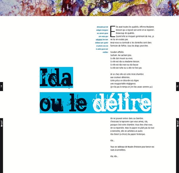 edition  poetry  design  layouts  editorial design