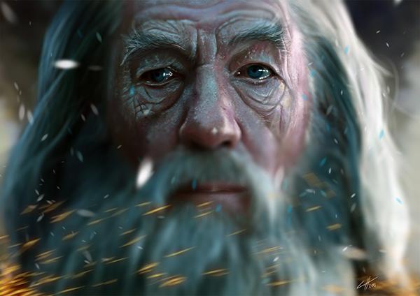 Gandalf by Chris Ham