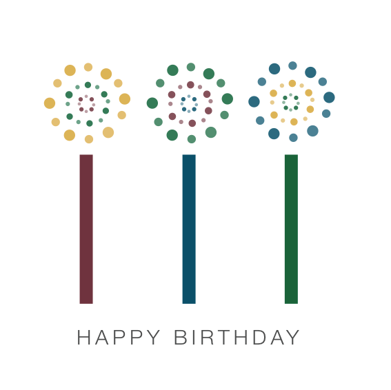 corporate birthday card on behance, Birthday card