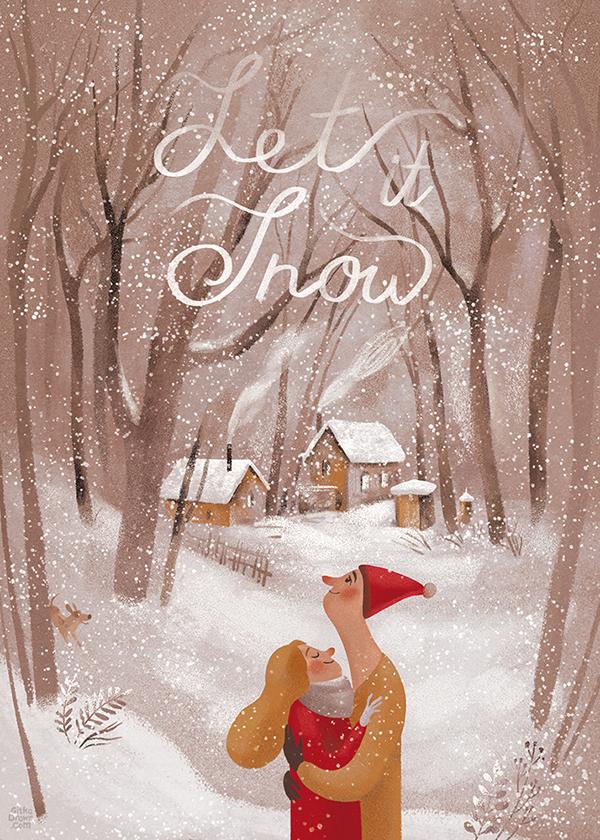 完美的19個聖誕節插圖欣賞