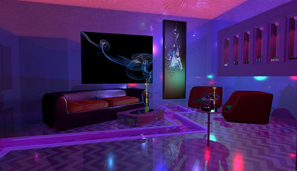 Hookah Lounge N Bar On Scad Portfolios