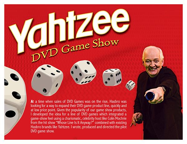 Yahtzee Character Design : Yahtzee dvd game show on behance