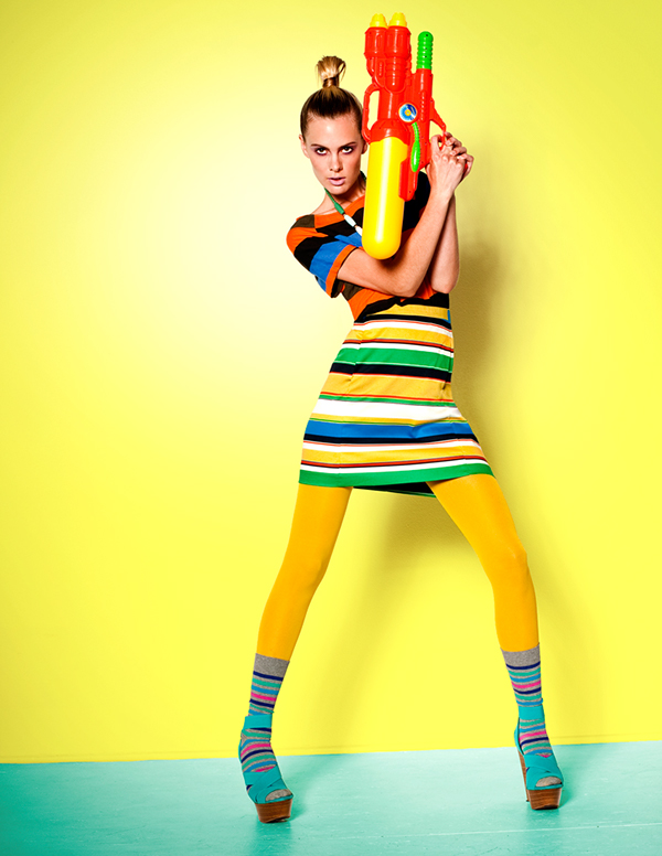 COLOR ENVY fashion editorial on Behance