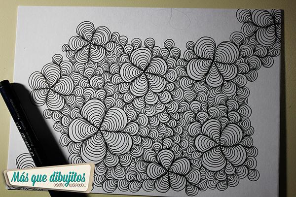 Proceso De Dibujo Para Tapa De Cuaderno On Behance