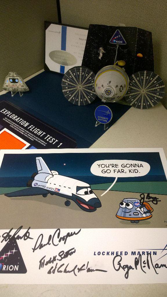 nasa orion shuttle spacecraft Kennedy Space Center