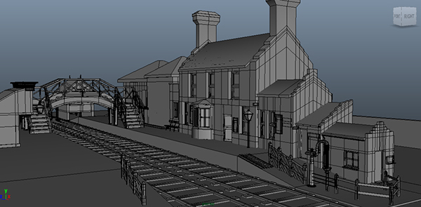 Asset & Environment Modelling- WIP Images on Behance