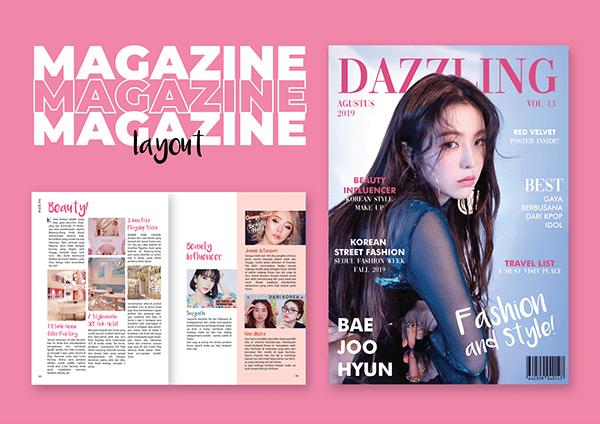 Magazine Layout - Dazzling