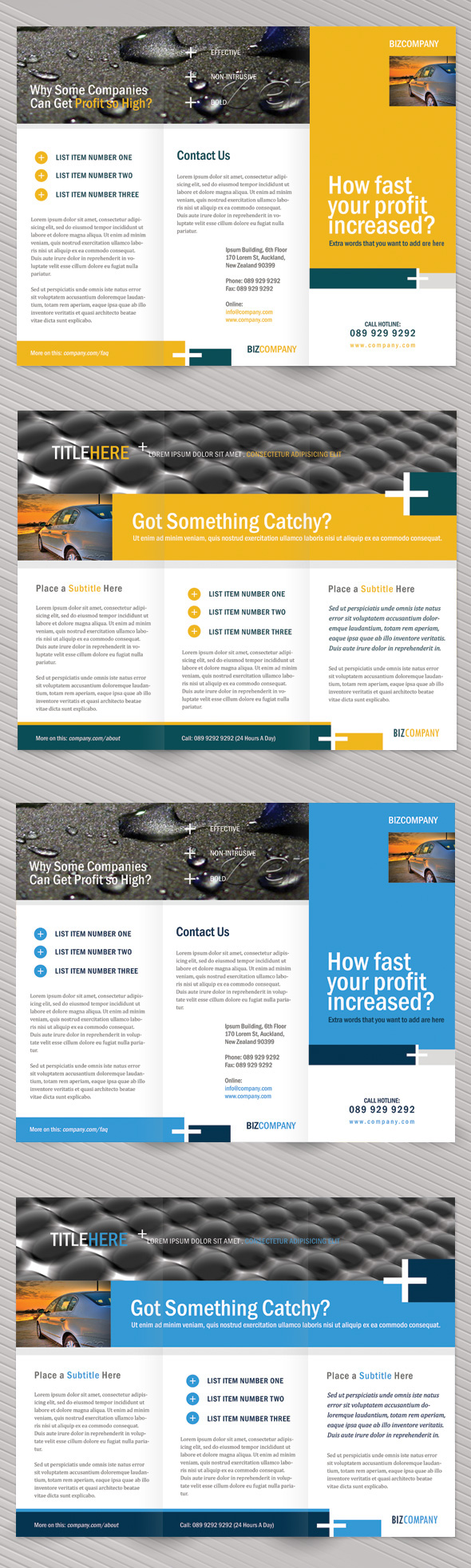 project brochure template