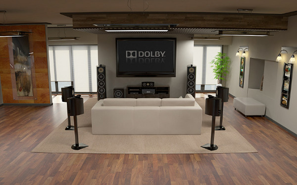 Dolby 7 1 Surround Sound Room On Behance