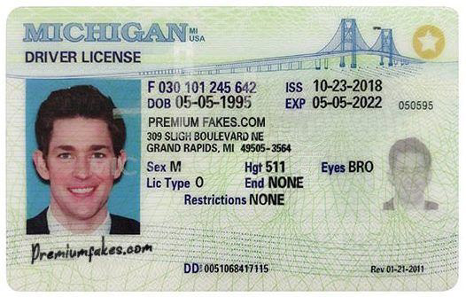 scannable fake ID