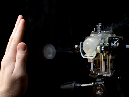 3d printing air augmented environments