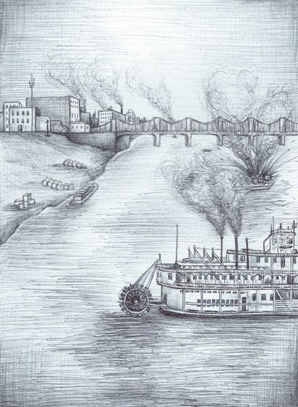 steamboat river bridge