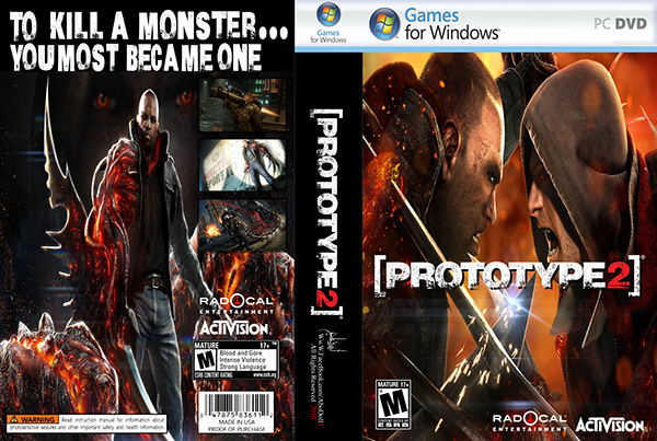 Prototype 2 Game Prototype 2 Video Game Cover