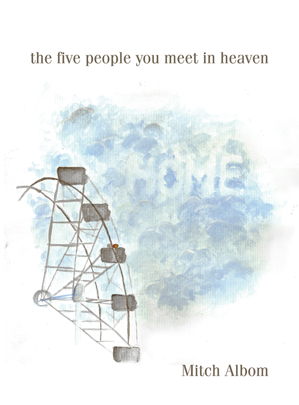 an analysis of the five people you meet in heaven by mitch albom The protagonist in the five people you meet in heaven is eddie he lived as a bitter, depressed man we are introduced to him on his 83rd birthday where he also dies and we soon follow him to his afterdeath where he meets 5 people whom he had affected while alive.