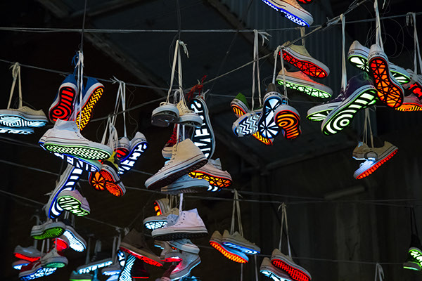 converse sneakers Arduino led amplify