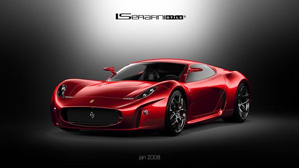 Ferrari Concept 2008 New Renders On Behance