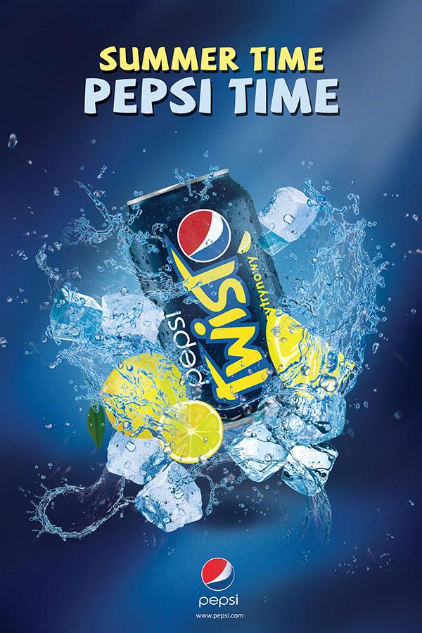 PEPSI Advertising Print Campaign on Behance