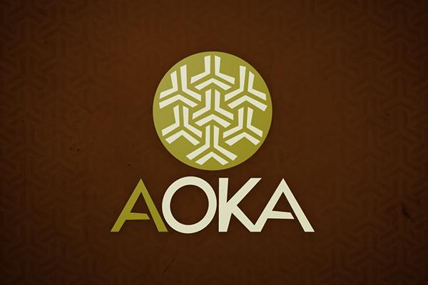 aoka  logo identidade visual visual identity Travel Brazil Brasil Amazon turism indigenous brand
