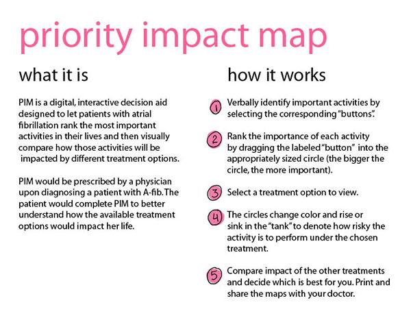 priority impact map  pim  on risd portfolios