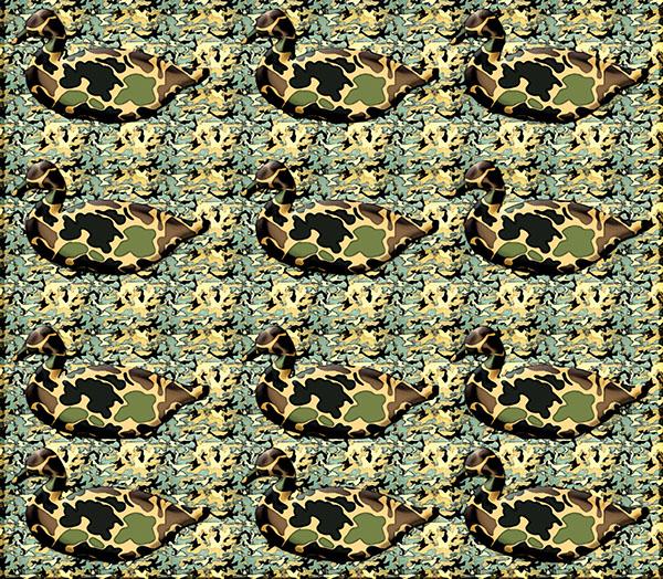 duck commander wallpaper options on behance