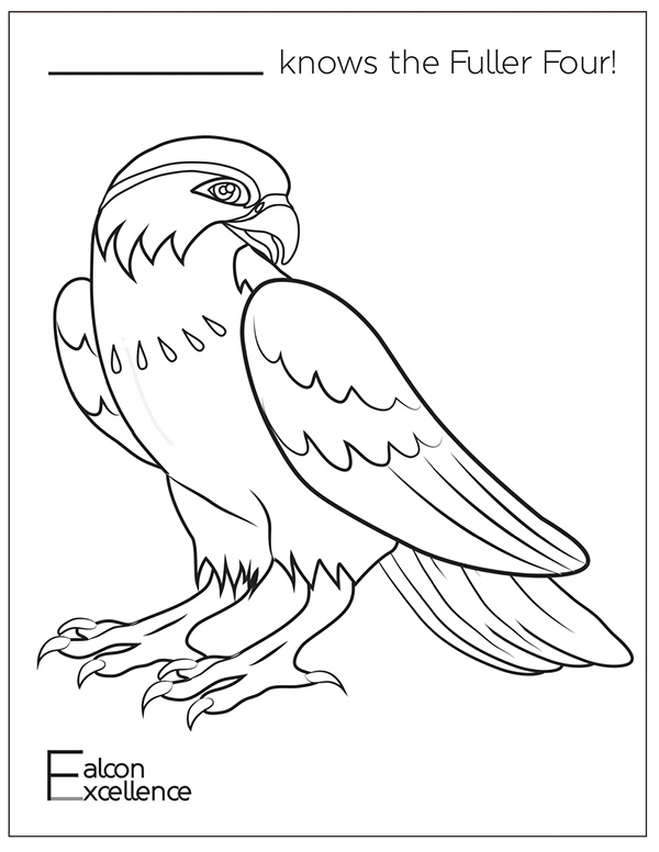 falcon coloring pages - photo#30