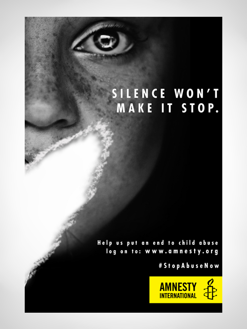 Amnesty International Stop Abuse Now Spec Ads On Behance