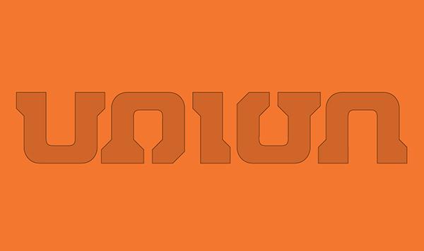 union binding Bindings snow snowboard francesco paciola design New logo Proposal RESTYLING funny 360° ambigramma ambigram logo table Sporty