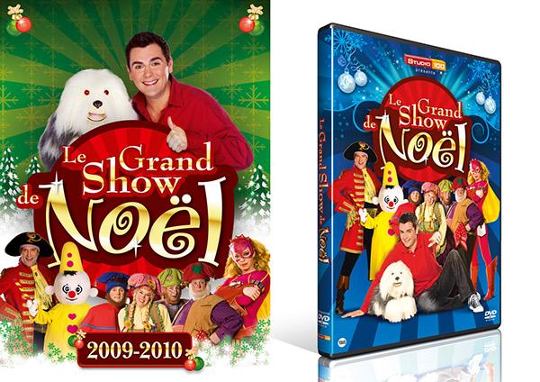 Dvd De Noel DVD packaging   Grand Show de Noel on Behance