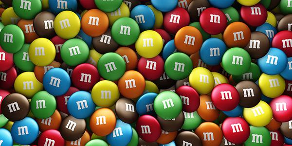 Ilustração 3D - M&M's Mars on Behance