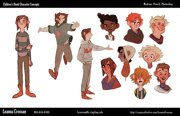 Character Design Visual Development Portfolio : Visual development portfolio on behance