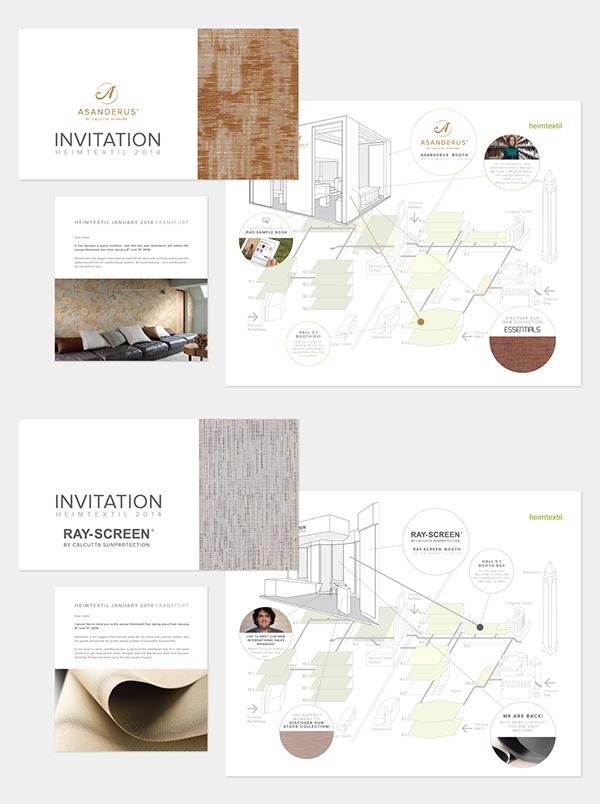 wallpaper Invitation blinds exposition