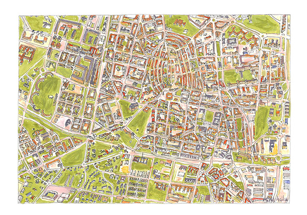 VitoriaGasteiz Map on Behance