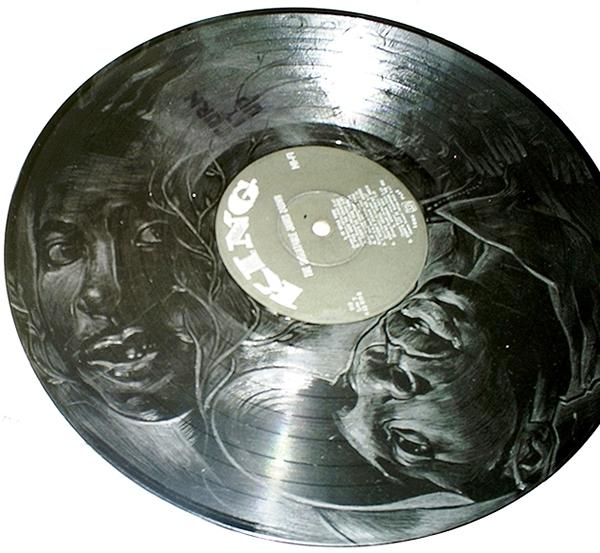 engraving fine art scratch hip hop Urban