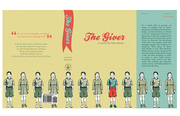 The Giver Book Cover Ideas ~ The giver book cover on behance