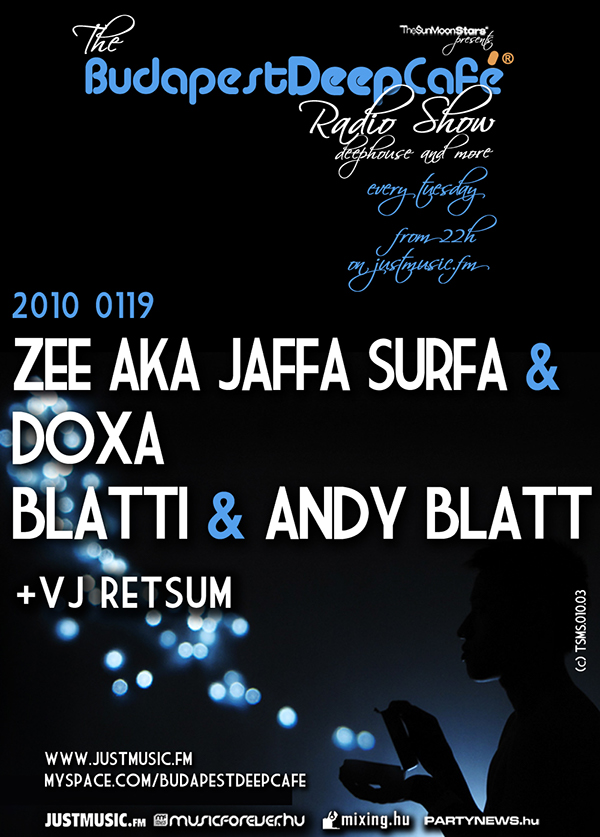 BDC budapest party flyer