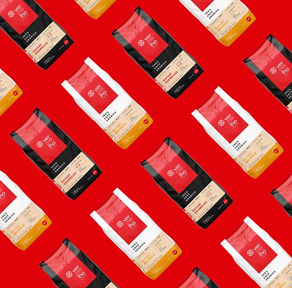 Vermelho Café - Coffee packaging