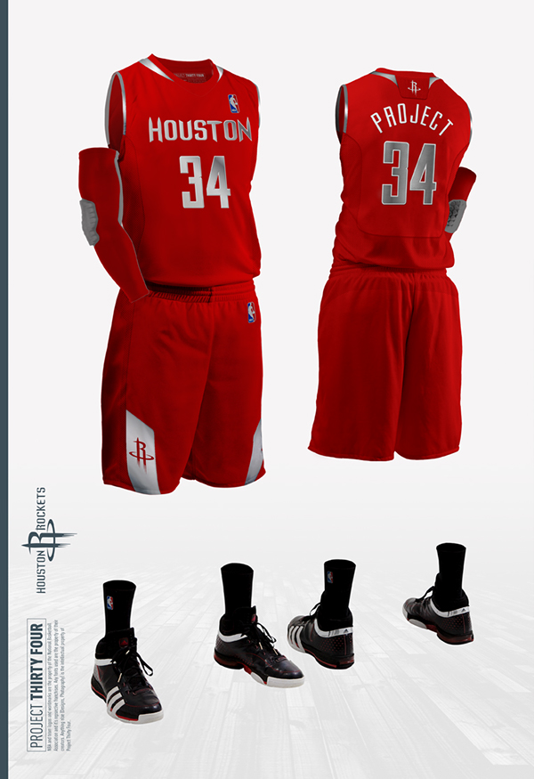 Houston Rockets Jersey Concept On Behance