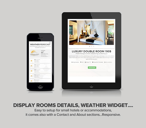 Accommodation booking form check availability form Datepicker hotel motel tourism Travel bed and breakfast