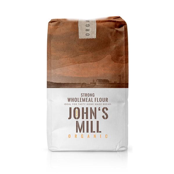 Packaging design - Organic flour package design