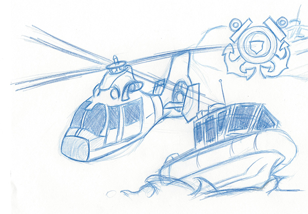 Coast Guard Helicopter On Behance